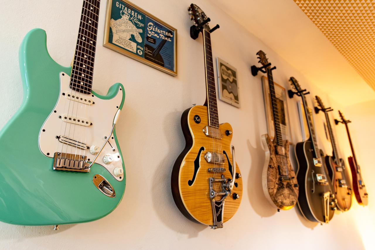 Zonkey Studios Wien Gitarren