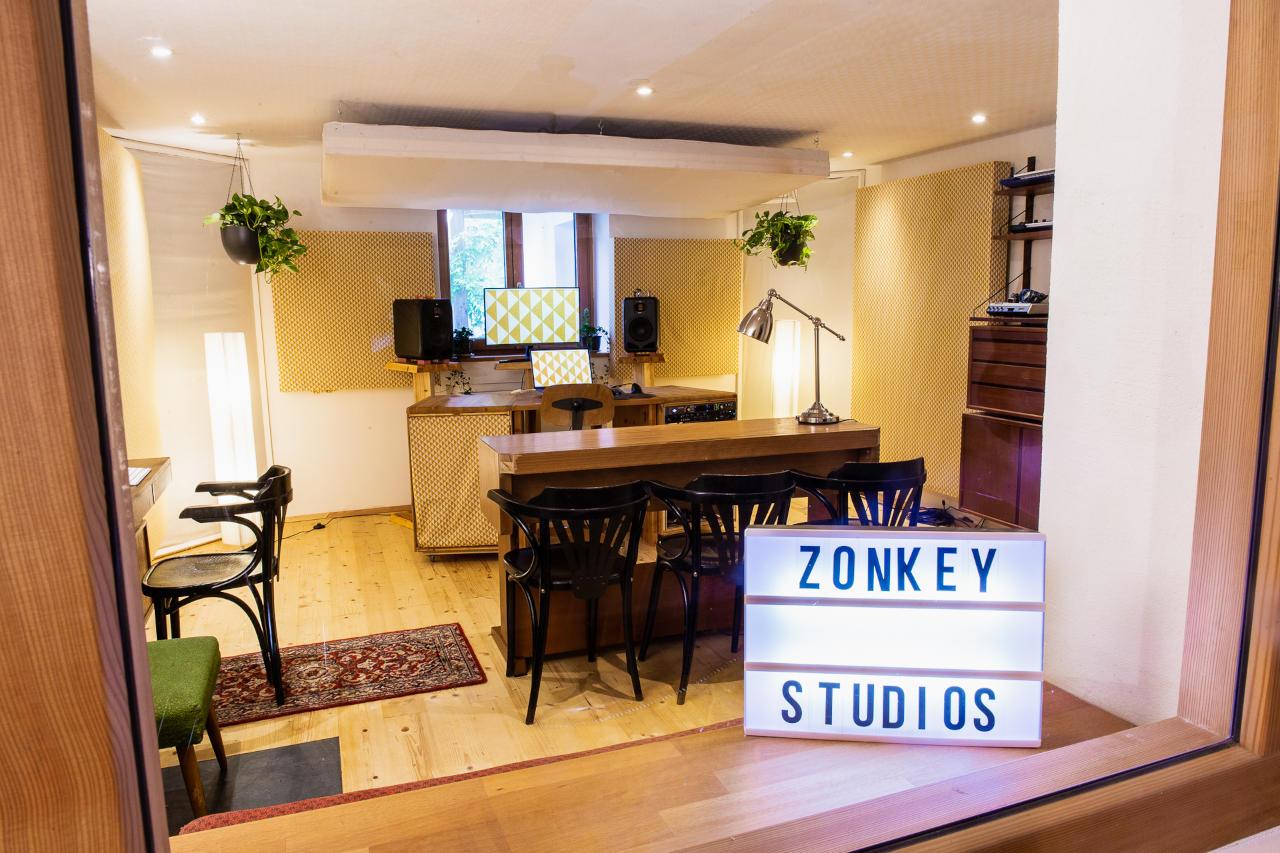 Zonkey Studios Control Room